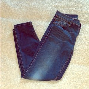 7 for all Mankind cropped Gwenevere jeans